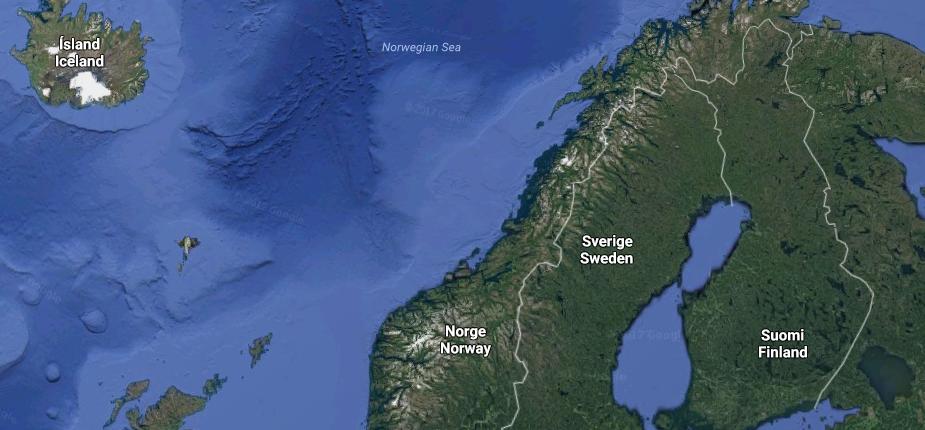 in finland telefonnummer i norge