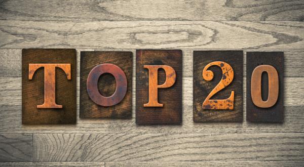 top 20 bedste mobil