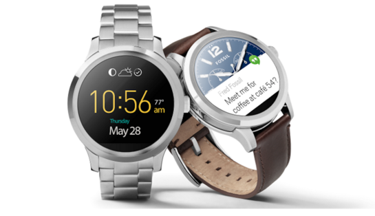 bedste smartwatch fossil-q-founder