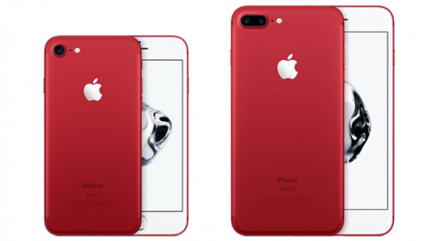 Afholte iPhone 7 i rød klar hos teleselskaberne på fredag SU-23