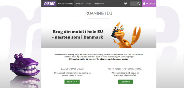 Oister roaming