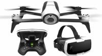 bedste pris på parrot bebop 2 fpv drone