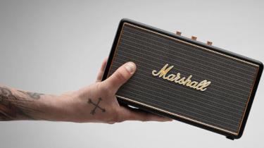 Bedste pris på bluetooth højtaleren Marshall Stockwell – spar 1.400 kroner