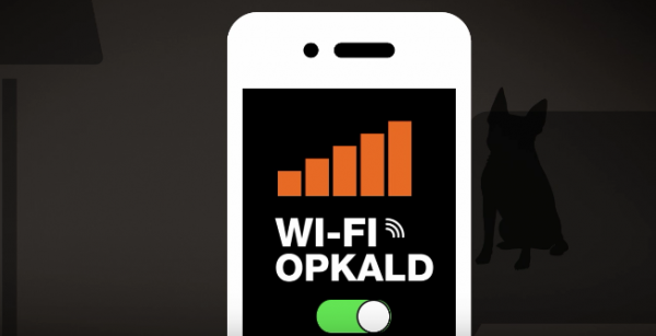 wifi opkald teleselskabet 3 mobiltelefoner