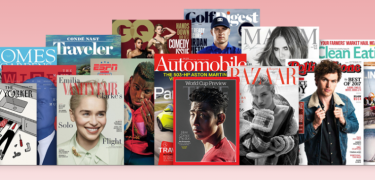 Mobilabonnementer med magasiner og blade fra Bonnier, Aller og Egmont