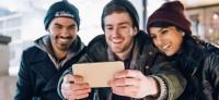 mobiltelefon med bedste selfie kamera