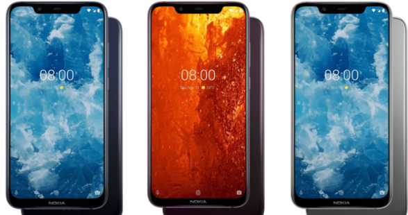 nokia 8.1 top 3 bedste nokia mobil
