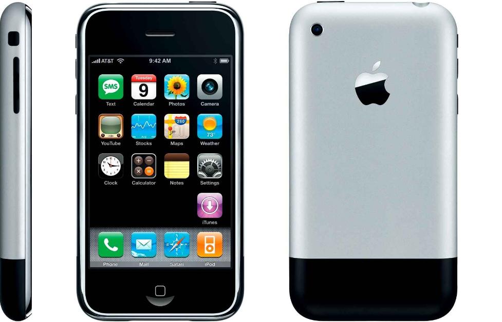 Den første iPhone