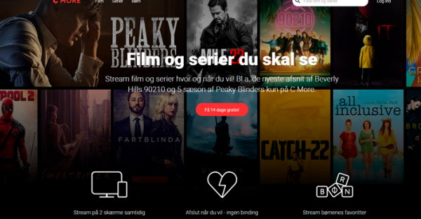 mobilabonnement med streaming tjeneste tvserier film