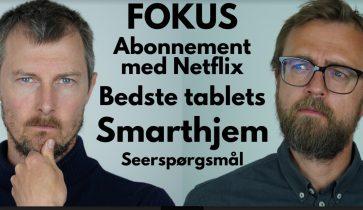 Gode tablets, smarthjem & mobilpakke med Netflix