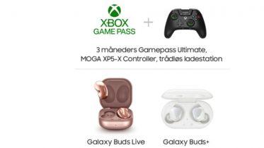 Få Galaxy Buds Live eller gaming-pakke for 79 kroner