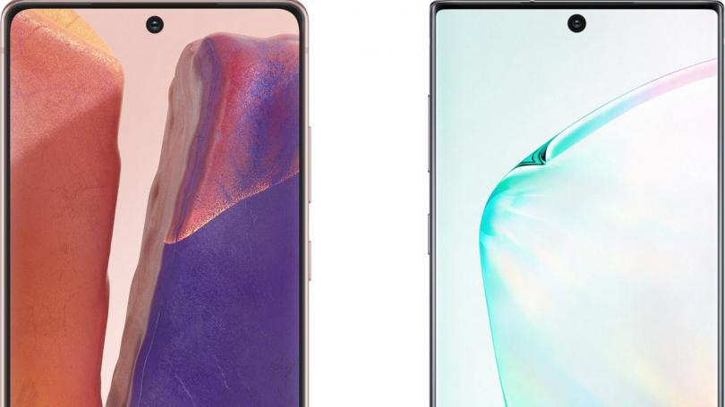 Samsung Galaxy Note 20 eller Note 10: Hvad er forskellen?