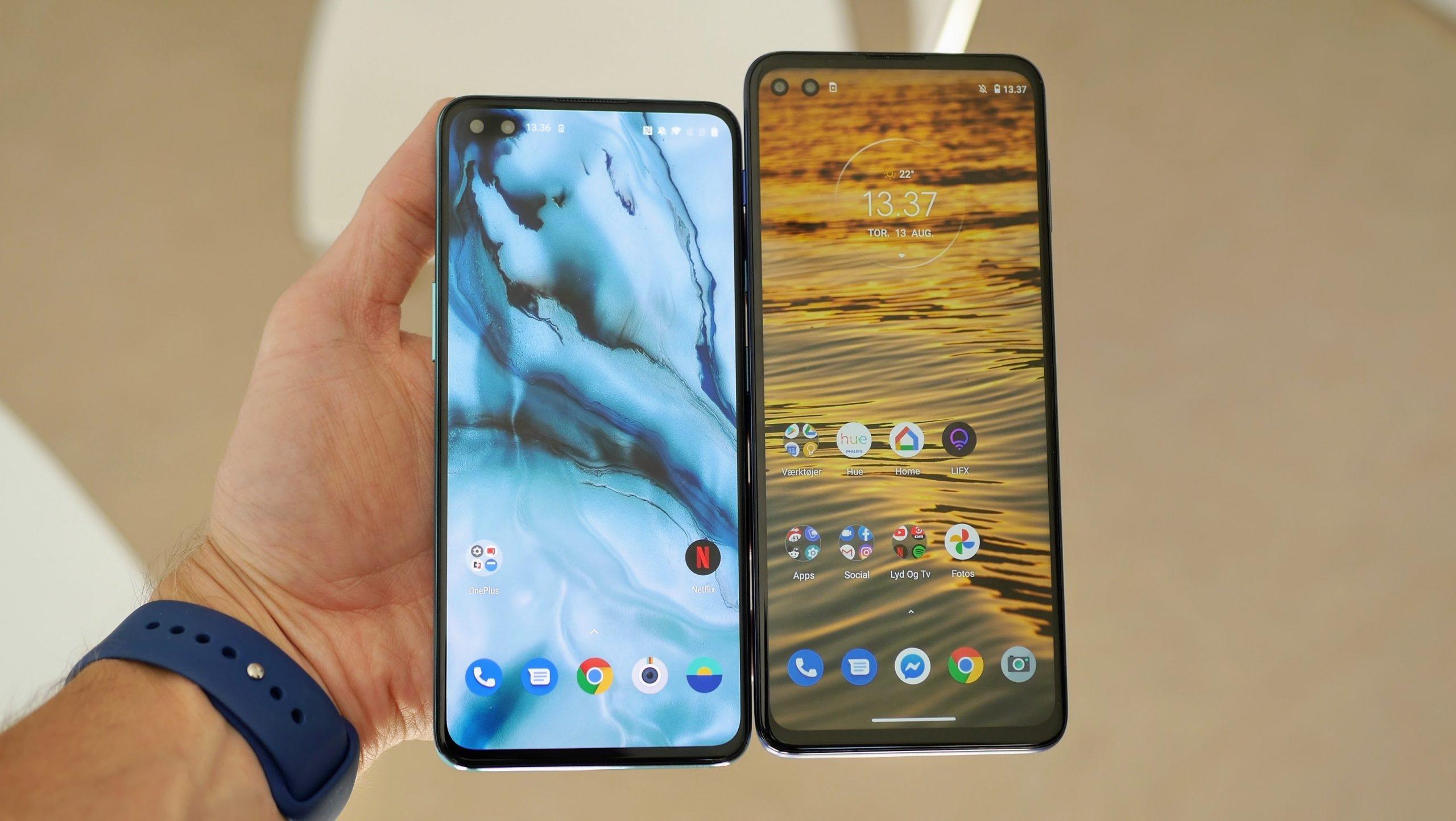 Motorola Moto G 5G Plus OnePlus Nord