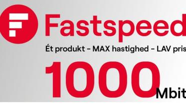 Bredbånd hos FastSpeed – priser og abonnementer