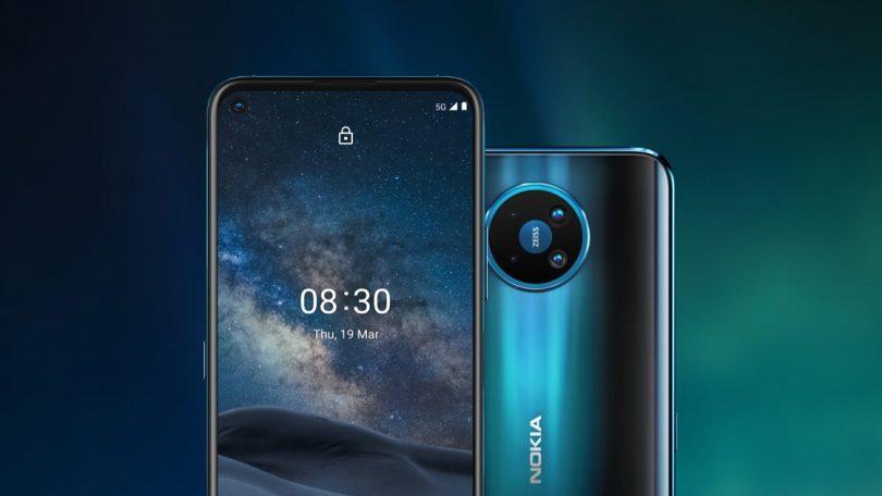 James Bonds-mobilen Nokia 8.3 5G er klar til salg i DK