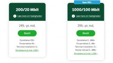 YouSee fordobler bredbåndshastigheden og sænker priserne