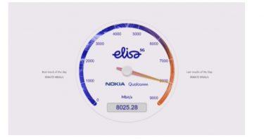 5G sætter hastighedsrekord: Runder 8 Gbit/s