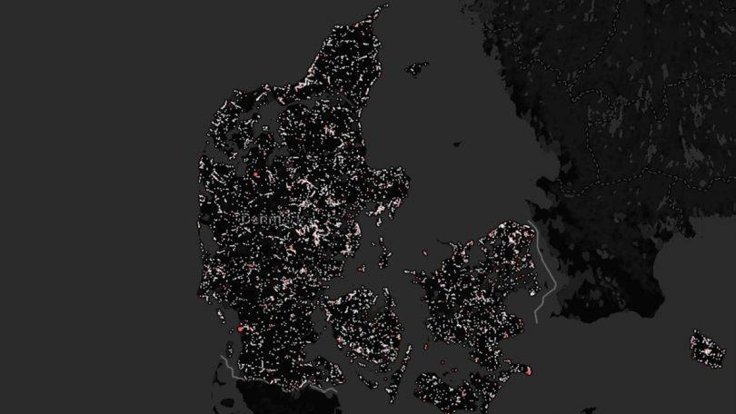 Her er der sorte huller i de danske mobilnet