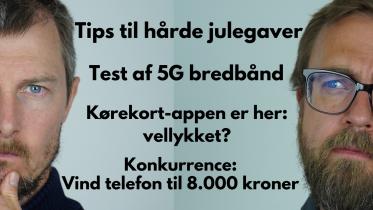 Test af 5G mobilt bredbånd
