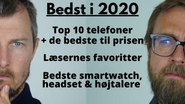 Bedste smartwatch, højtaler og høretelefoner 2020