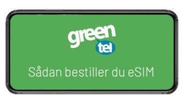 Nu får Greentel eSIM – Se priser og kompatible enheder