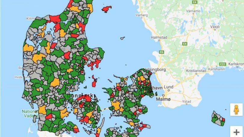 Mobilselskabernes mobildækning & netværk i din by