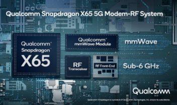 Snapdragon X65 giver sindssyge datahastigheder på mobilen