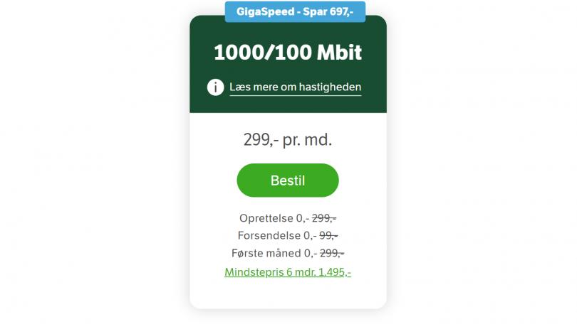 Spar 700 kroner på bredbånd hos YouSee – se alternativer