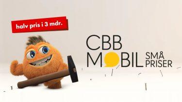 Halv pris på mobilabonnementer hos CBB i tre måneder – se priser her