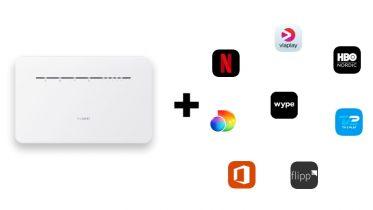 De bedste abonnementer med mobilt bredbånd med streaming