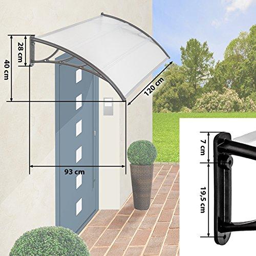 tectake vordach haust r berdachung haust rvordach pultvordach diverse gr en ihre. Black Bedroom Furniture Sets. Home Design Ideas