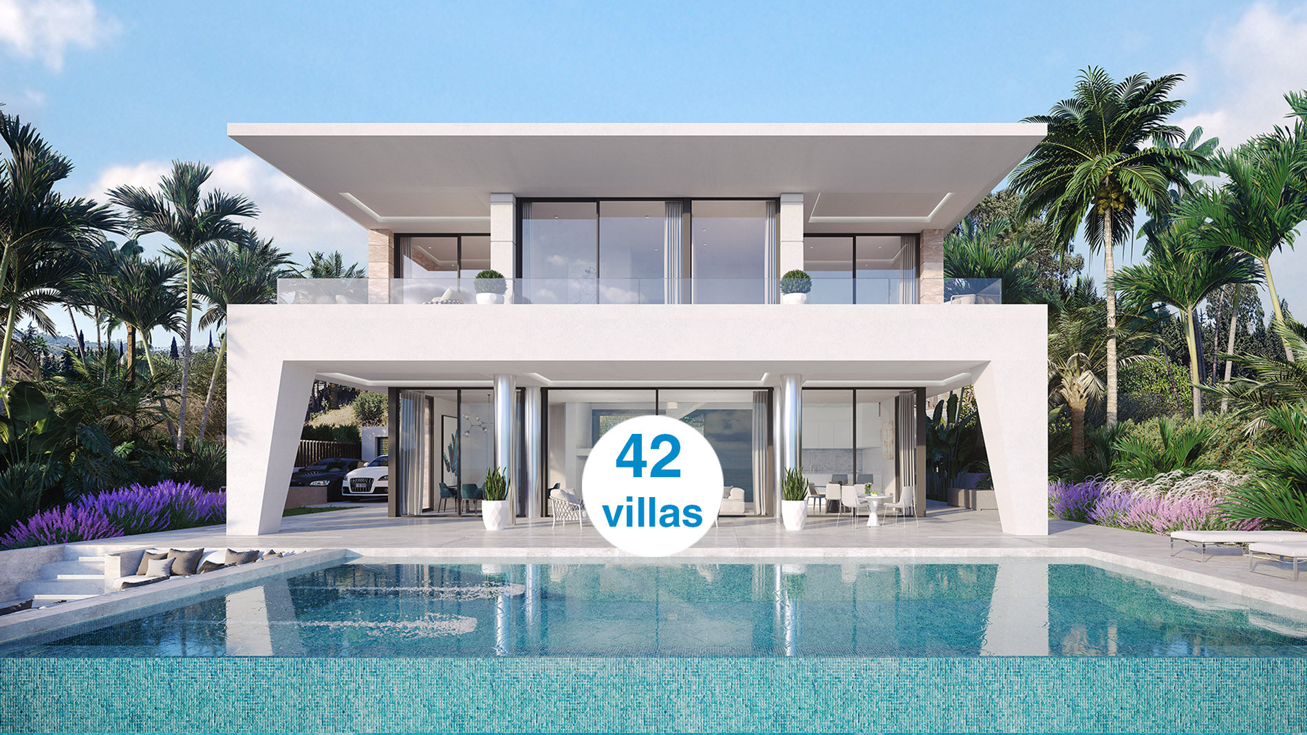 Independent Luxury VIlla Project With Panoramic Sea View in La Duquesa