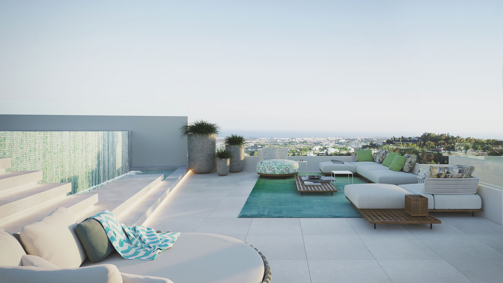 The View Marbella : 49 luxury dwellings with spectacular views to the sea – Benahavis