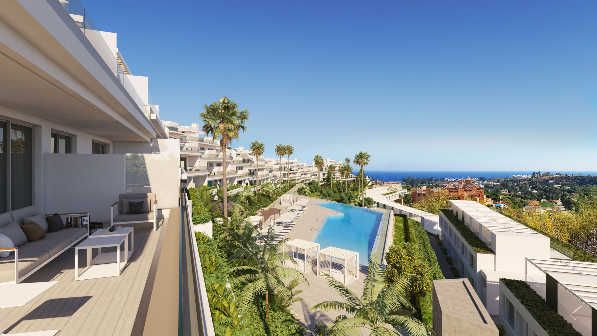 Project of 78 apartments walking distance to amenities – Cancelada, Estepona