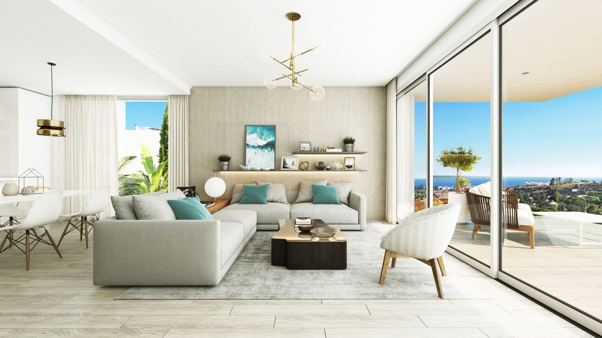 Project of 36 townhomes walking distance to amenities – Cancelada, Estepona