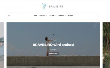 Bravebird Startseite