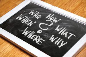 Im Internet recherchieren : W-Fragen