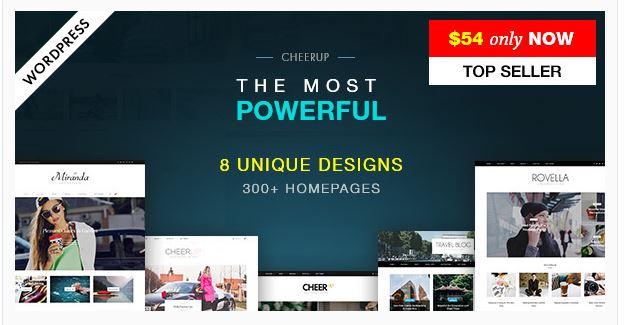 die besten WordPress Blog Themes