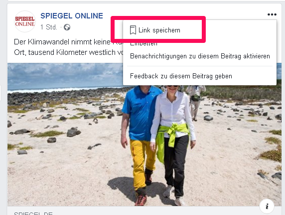 Bookmarks_versteckte Facebook Funktionen