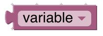 bloc variable