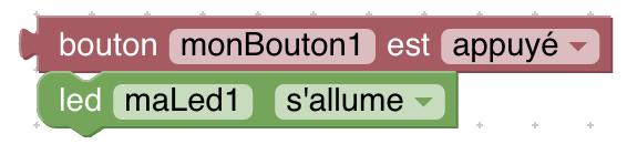 programme incomplet allume led