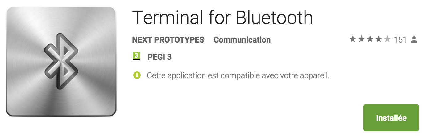 """photo application """"terminal for bluetooth"""""""