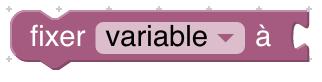 bloc fixer variable