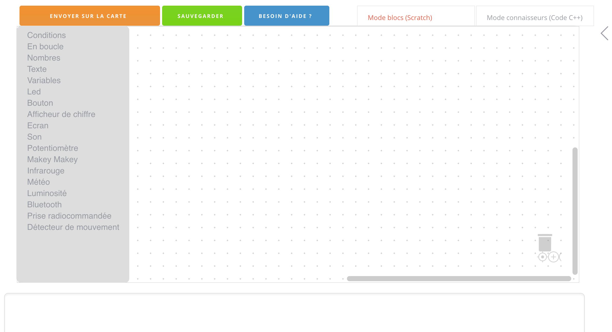 interface de Thingz