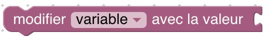 bloc modifier variable