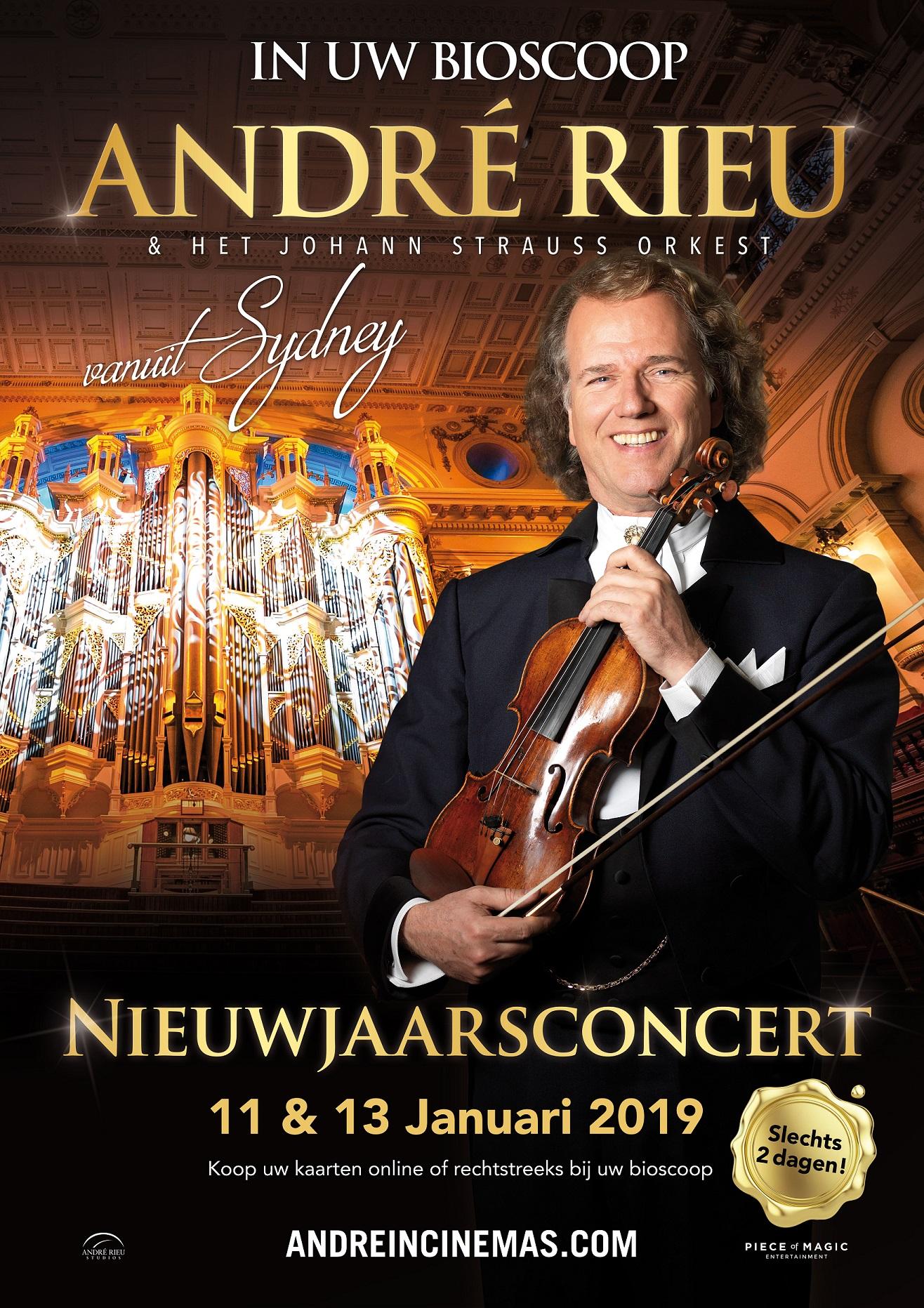 Andre Rieus Nieuwjaarsconcert 2019