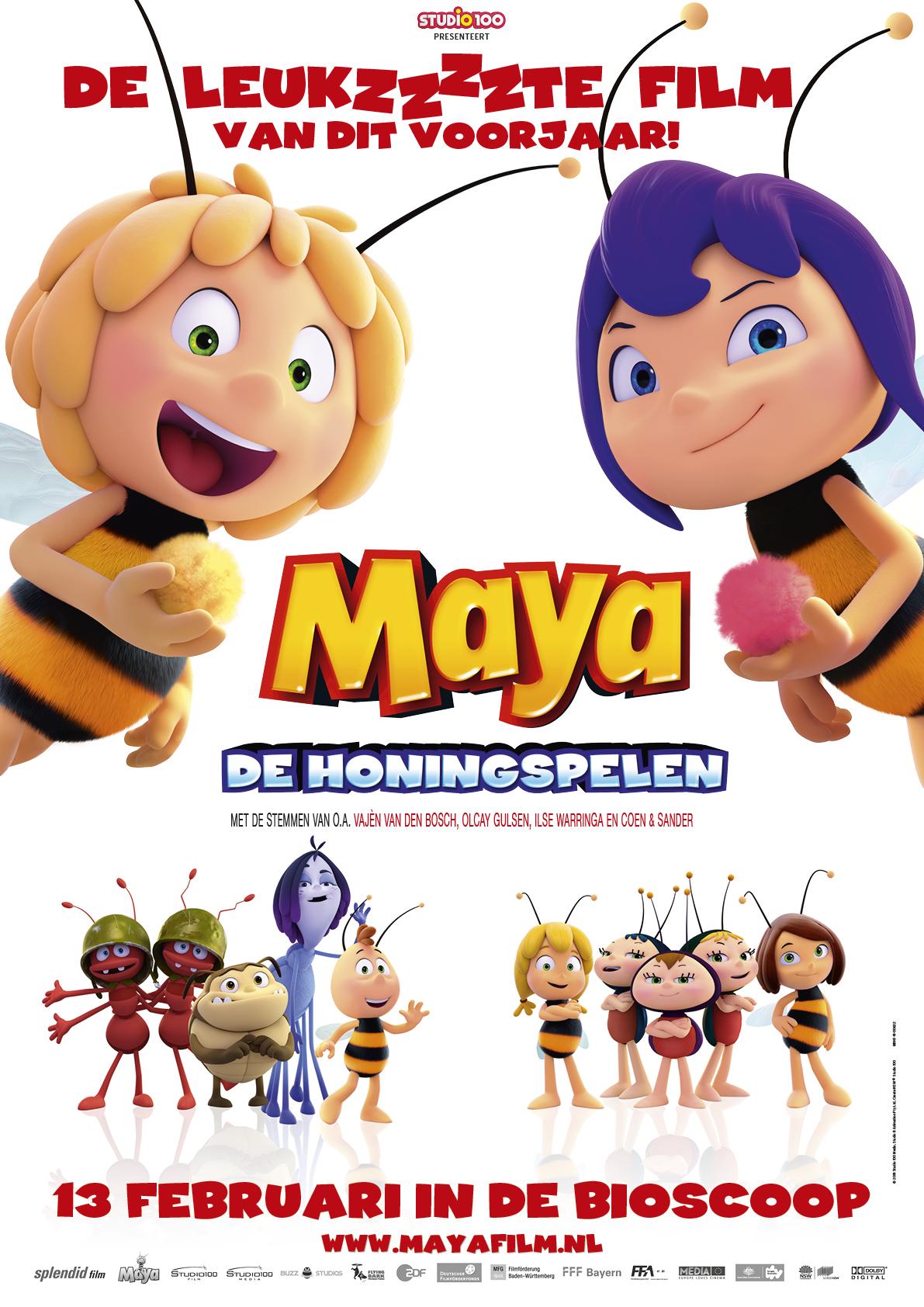 PeuterKleuter: Maya De Honingspelen