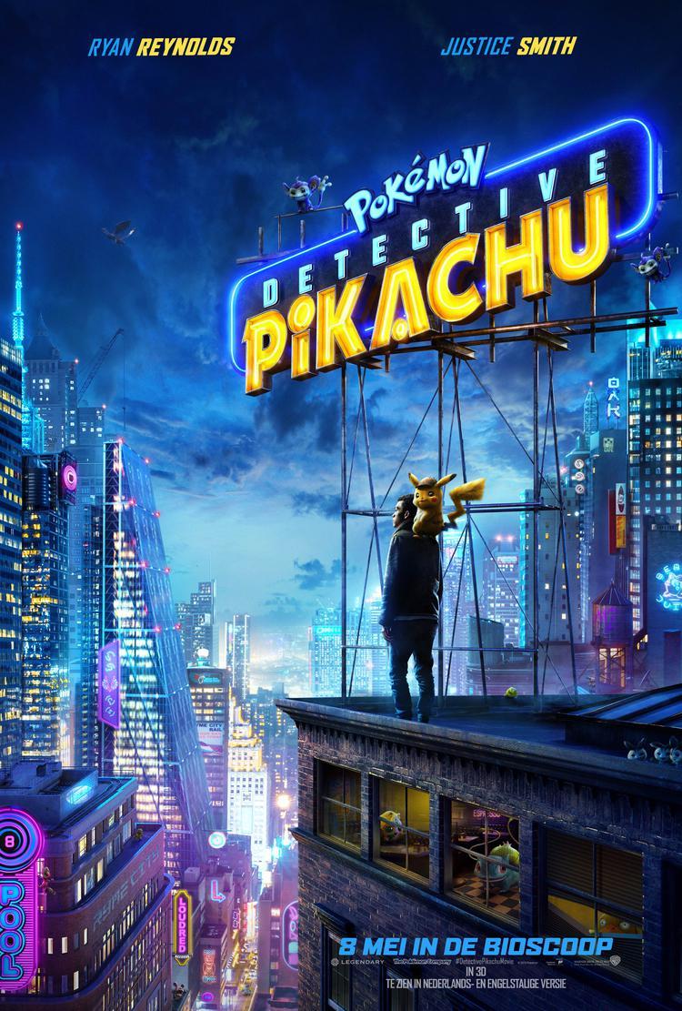 Pokémon Detective Pikachu (2D OV) zonder pauze