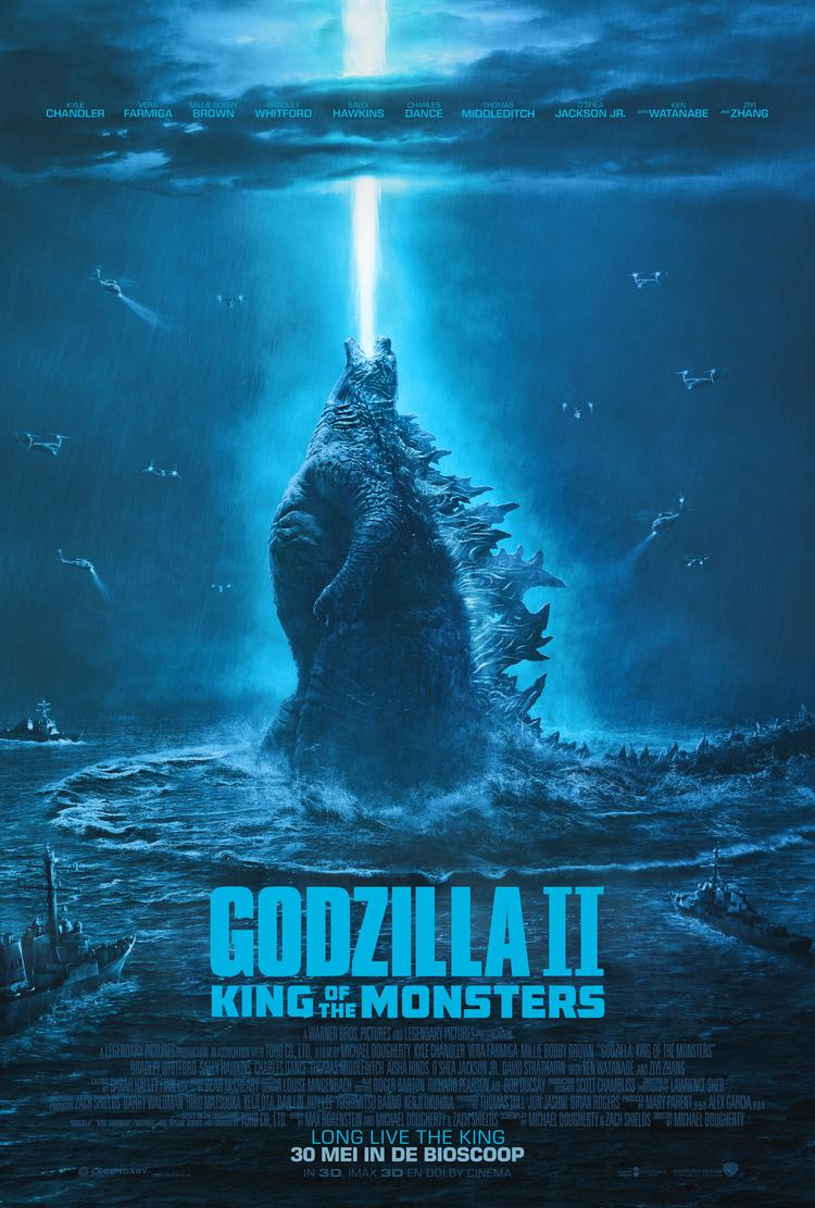 Godzilla II King Of The Monsters (2D)