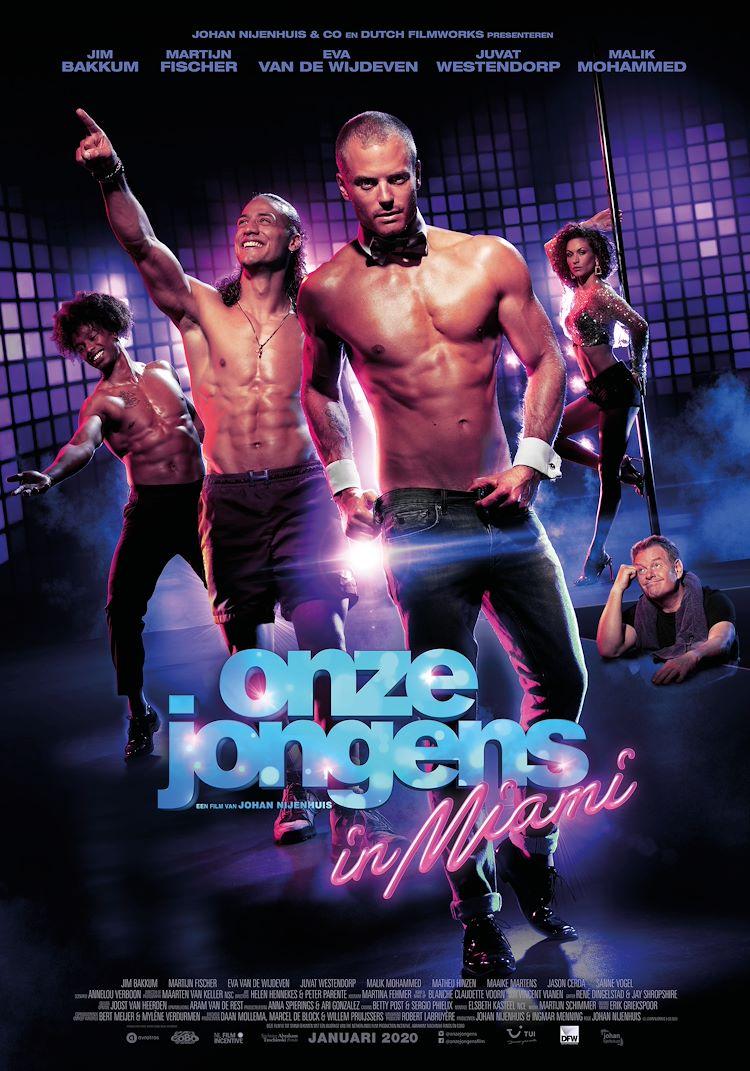 Ladies Night: Onze jongens in Miami